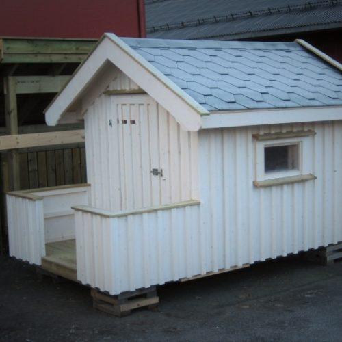 Lekestue fra Smiløkka - Modell Basberg 3,6 m2